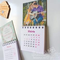 Магнит календарь с фото