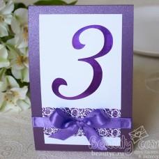 "Номер стола ""Виолетта"""