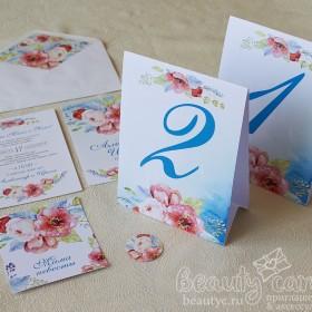 Номера столов на свадьбу